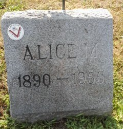 Alice M Behan