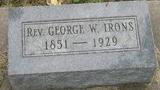 Rev George William Irons
