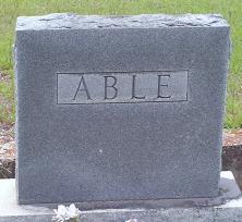 Grover Eugene Able