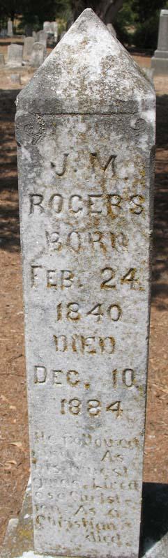 J. M. Rogers