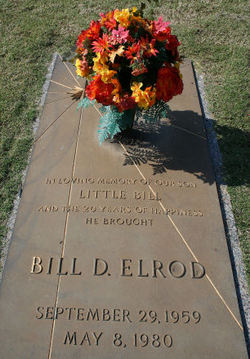 William Dixon Little Bill Elrod