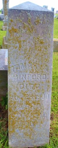 Tamar Ann <i>Hawkins</i> Binford