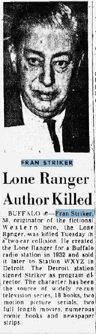 Francis Hamilton Fran Striker