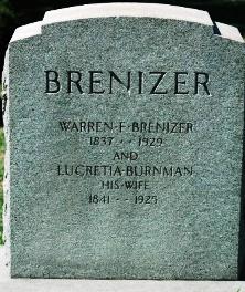 Lucretia <i>Burnman</i> Brenizer