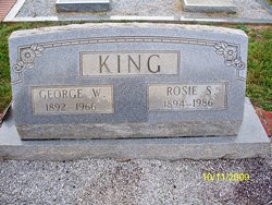 George Washington King
