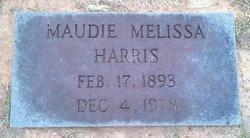 Maudie Melissa <i>Morgan</i> Harris