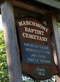 Marchmont Baptist Cemetery