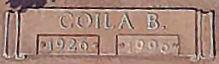 Coila B. Tart