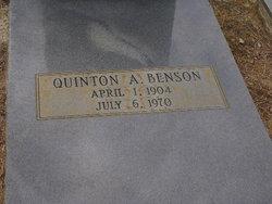 Quinton A Benson