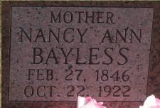 Nancy Ann <i>Ritter</i> Bayless