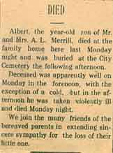 Albert Lewis Merrell