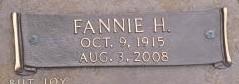 Fannie <i>Huber</i> Arnold