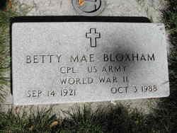 Betty Mae Bloxham