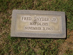 Fred Snyder, Jr