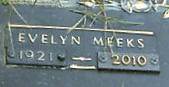 Evelyn <i>Meeks</i> Davis