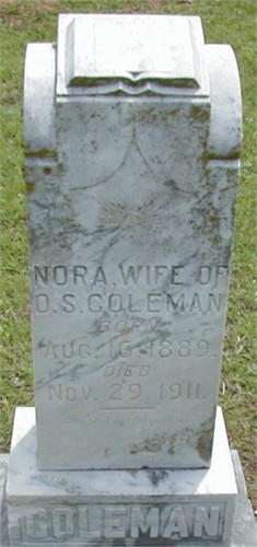 Nora Ann <i>Casey</i> Coleman