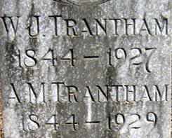Decia A. Mildred <i>Cook</i> Trantham