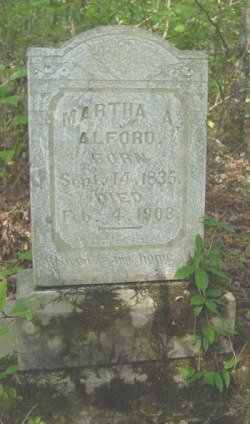 Martha Ann <i>White</i> Alford