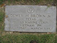 PFC Dewey Hearrell Brown, Jr