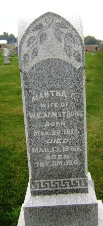 Martha Marie <i>Connell</i> Armstrong