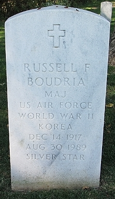 Maj Russell Francis Boudria