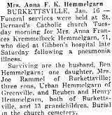Anna Frances <i>Krumpelbeck</i> Hemmelgarn