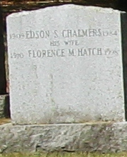 Florence M <i>Hatch</i> Chalmers