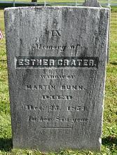 Esther <i>Crater</i> Bunn