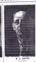 Robert E Lee Betts