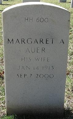 Margaret <i>Carrico</i> Auer