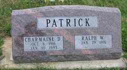 Ralph W Patrick