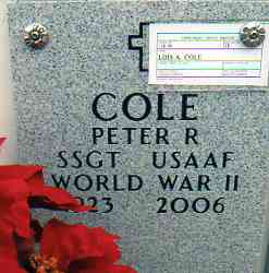 Sgt Peter Richard Cole