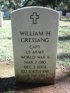 William H Gressang
