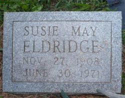 Susie May <i>Whelan</i> Eldridge