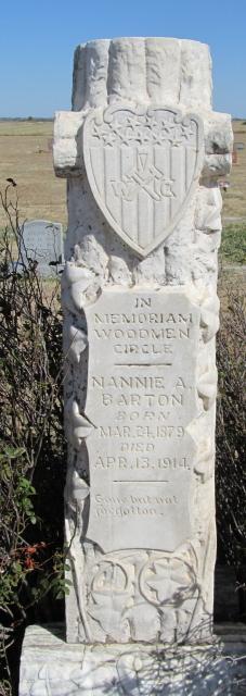 Nannie A. Barton