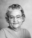 Maudie Frances <i>Thedford</i> McWhorter-Adams