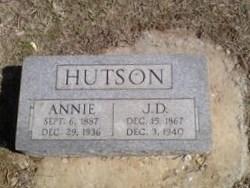 Annie Corrolia <i>Finney</i> Hutson
