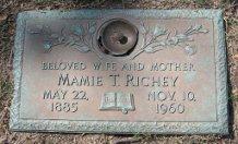 Mamie Mae <i>Thomas</i> Richey