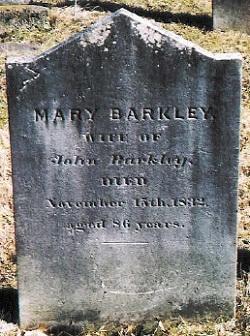 Mary <i>Brown</i> Barkley