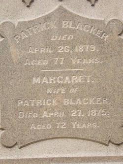 Margaret <i>McCue</i> Blacker