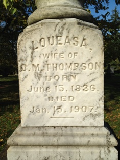 Loueasa Matilda <i>Burkhart</i> Thompson