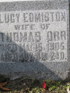 Lucy Edmiston Orr
