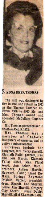 Edna Rhea <i>Martin</i> Thomas