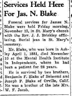 James Norbert Blake