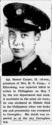 Harvey H Carper