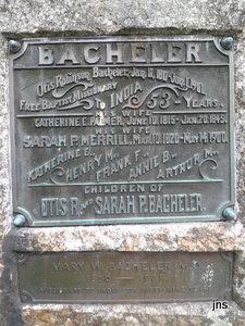 Rev Otis Robinson Bacheler