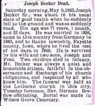 Joachim Joseph Becker
