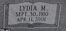 Lydia Malinda <i>Geisler</i> Borchgardt