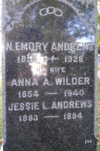 Anna Adella <i>Wilder</i> Andrews