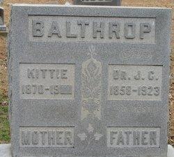 Dr John Calvin Balthrop